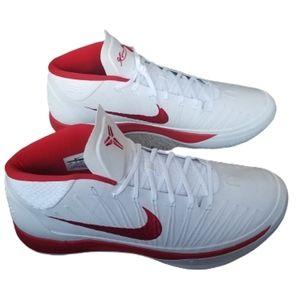 Nike Kobe AD RARE White Red Sneakers Size 18